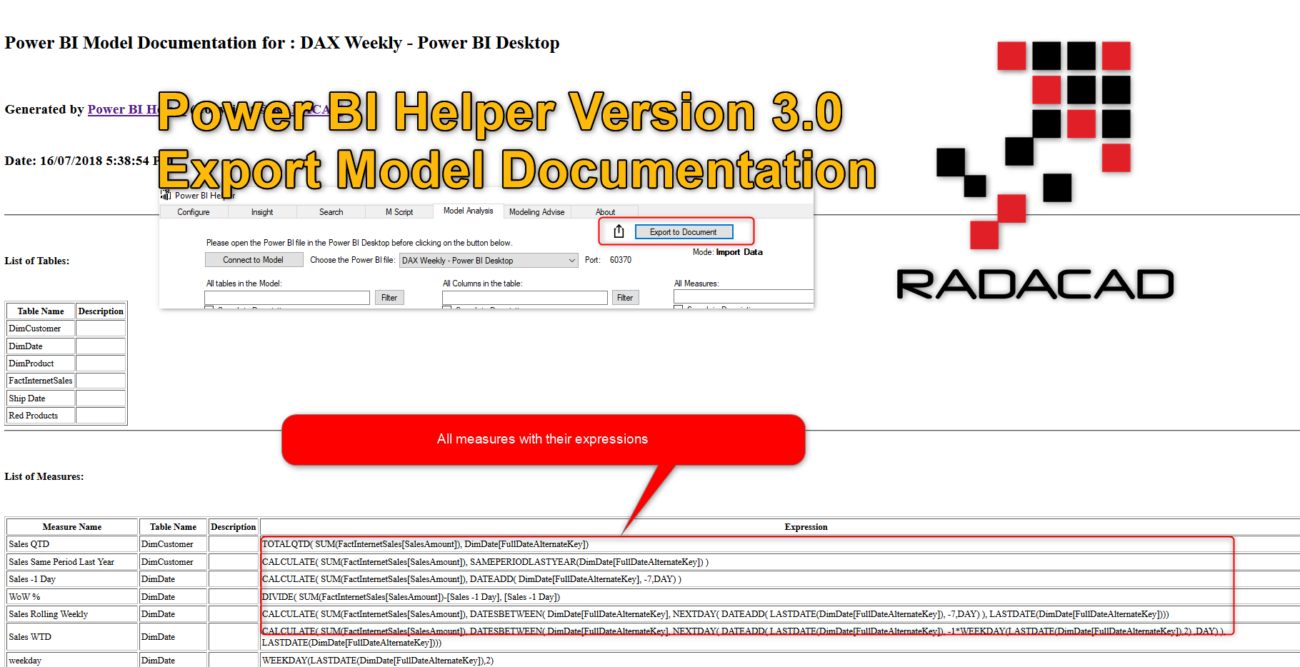 What Power BI Helper version 3.0 Does?